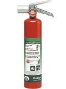 2.5 lb Halotron Fire Extinguisher