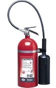 10 lb Carbon Dioxide (CO2) Fire Extinguisher