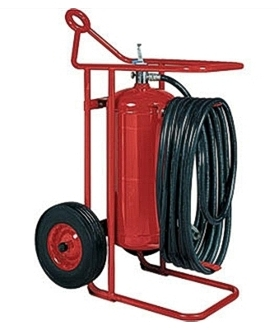150 lb BC Stored Pressure Dry Chemical Extinguisher
