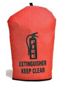 Extra-Small Heavy-Duty Fire Extinguisher Cover