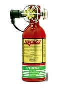 100 Cubic Feet HFC-227 Extinguishing System