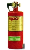 200 Cubic Feet HFC-227 Extinguishing System