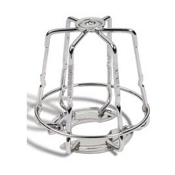 "1-Piece ""Mini"", Chrome 1/2"" & 3/4"" Sprinkler Cage"