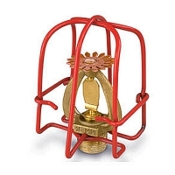"1-Piece, Red, 1/2"" Sprinkler Cage"
