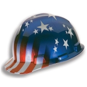 Head Protection Helmet Stars and Stripes